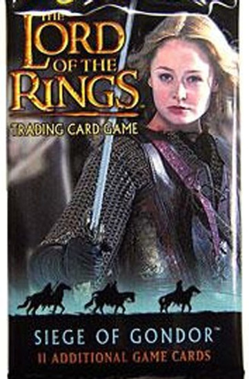 The Lord of the Rings Trading Card Game Siege of Gondor Booster Pack [11 Cards]
