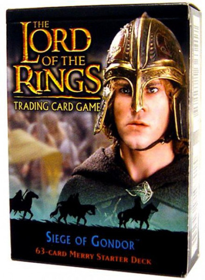 The Lord of the Rings Trading Card Game Siege of Gondor Merry Starter Deck
