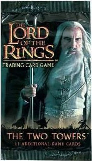 The Lord of the Rings Trading Card Game The Two Towers Booster Pack [11 Cards]