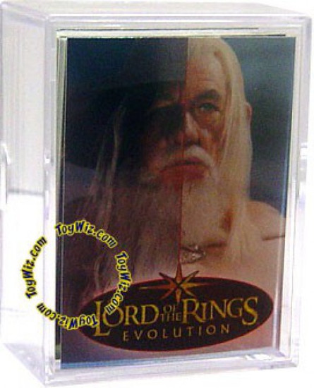 The Lord of the Rings Topps Evolution Trading Card Set [72 Cards]