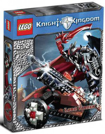 LEGO Knights Kingdom Lord Vladek Set #8702