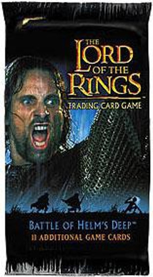 The Lord of the Rings Trading Card Game Battle of Helm's Deep Booster Pack [11 Cards]