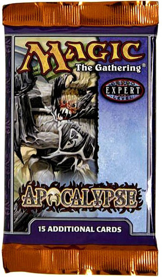 MtG Trading Card Game Apocalypse Booster Pack [15 Cards]