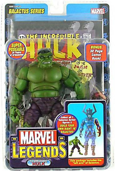 Marvel Legends Series 9 Galactus Hulk Action Figure [1st Appearance, Green Variant]