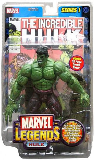 Marvel Legends Series 1 Hulk Action Figure