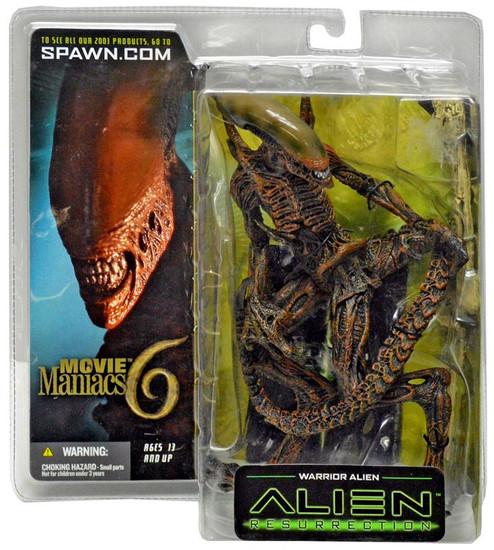 McFarlane Toys Resurrection Movie Maniacs Series 6 Warrior Alien Action Figure