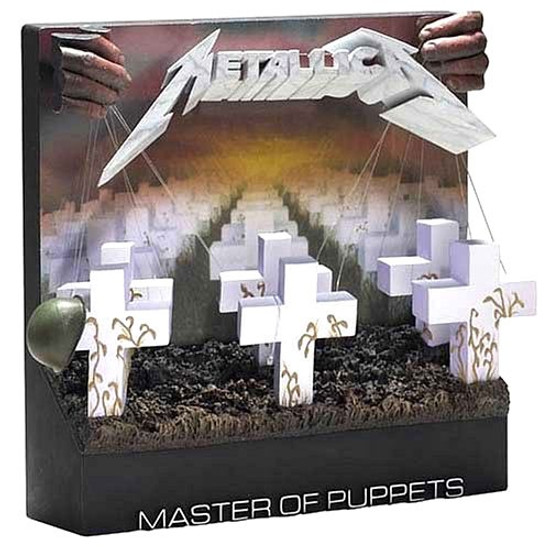 McFarlane Toys Pop Culture Masterworks Metallica Master of Puppets 3-D Album Cover