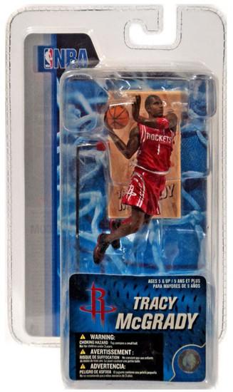 McFarlane Toys NBA Houston Rockets Sports Picks 3 Inch Mini Series 4 Tracy McGrady Mini Figure