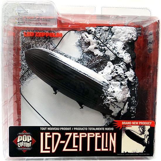 McFarlane Toys Pink Banner Pop Culture Masterworks Led Zeppelin 3-D Album Cover
