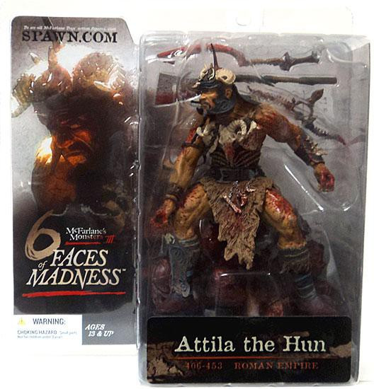 McFarlane Toys McFarlane's Monsters 6 Faces of Madness Attila the Hun Action Figure