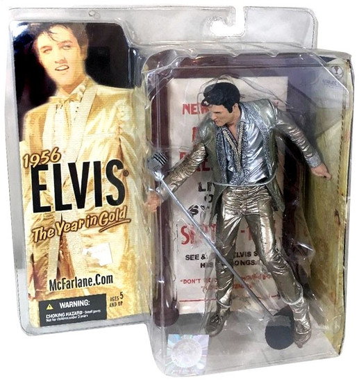 McFarlane Toys Elvis Action Figure #4 [1956 The Year in Gold]