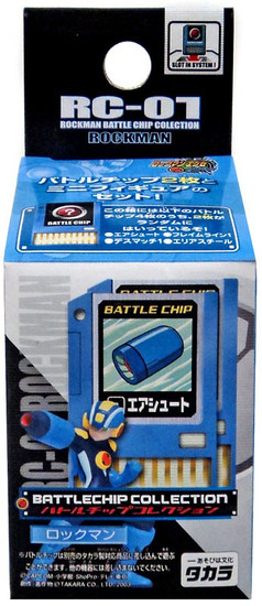Capcom Battlechip Collection Mega Man 3-Inch PVC Figure RC-01