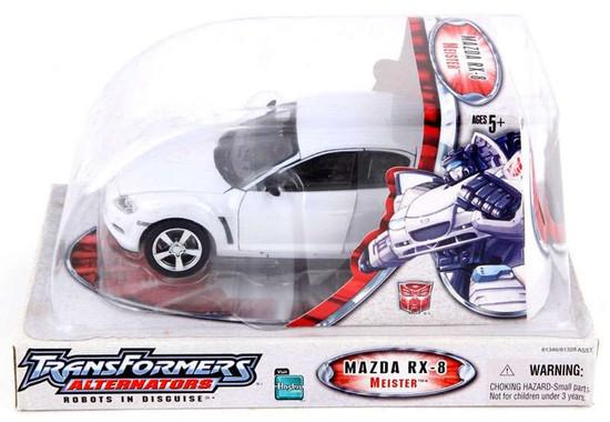 Transformers Alternators Meister Mazda RX-8 Action Figure