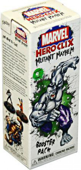 Marvel HeroClix Mutant Mayhem Booster Pack