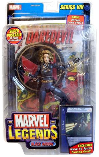 Marvel Legends Series 8 Black Widow Action Figure [Blonde Yelena Belova Variant]