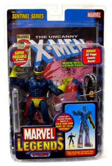 Marvel Legends Series 10 Sentinel Cyclops Action Figure