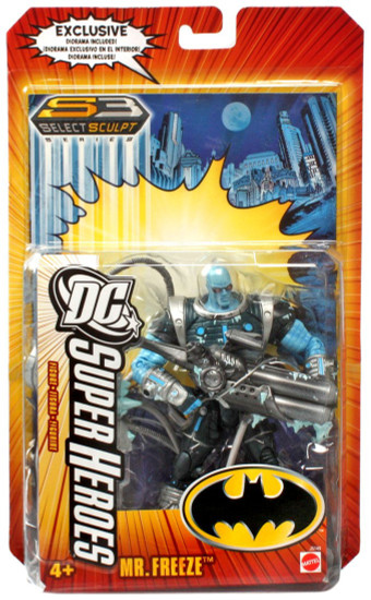 Batman DC Super Heroes Series 3 Mr. Freeze Action Figure