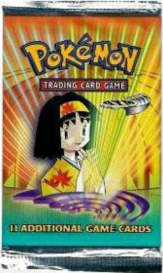 Pokemon Trading Card Game Gym Heroes Booster Pack [11 Cards]