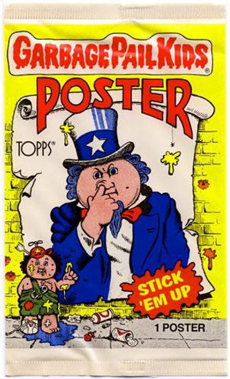 Topps Garbage Pail Kids Trading Card Posters Pack