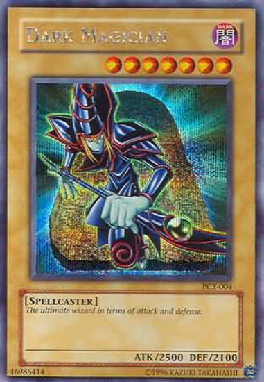 YuGiOh Power of Chaos: Yugi the Destiny Secret Rare Dark Magician PCY-004