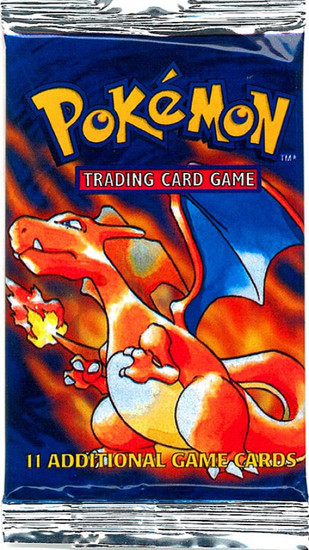 Pokemon Trading Card Game Base Set (Basic) Booster Pack [11 Cards]