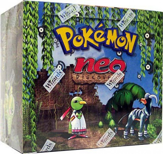 Pokemon Trading Card Game Neo Discovery Booster Box [36 Packs]