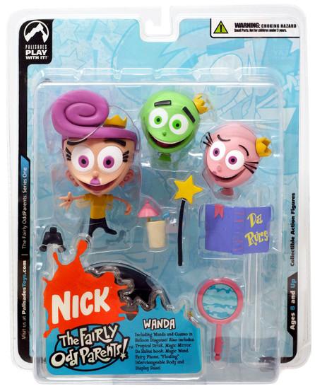 NickToons Fairly Odd Parents Wanda Action Figure