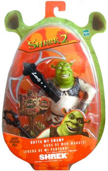 Shrek 2 Shrek Action Figure [Outta' My Swamp]