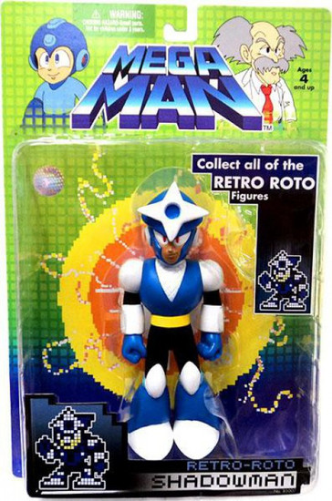 Mega Man Series 1 Retro Roto Shadowman Action Figure
