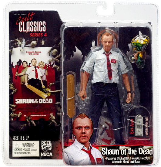 NECA Shaun of the Dead Cult Classics Series 4 Shaun Action Figure
