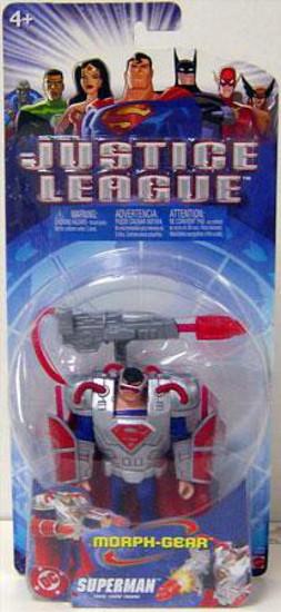 Justice League Superman Action Figure [Morph-Gear]