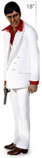 Scarface Polystone Premium Format Tony Montana Statue