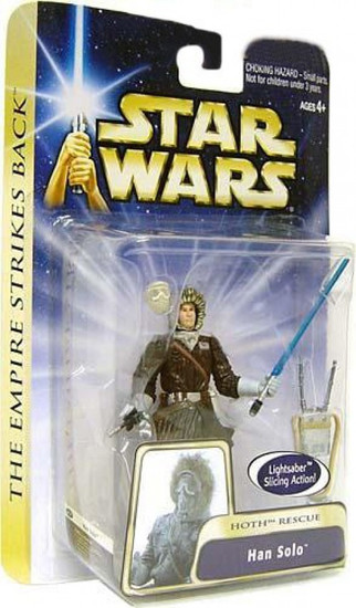 Star Wars The Empire Strikes Back Han Solo Action Figure #13 [Hoth Rescue]