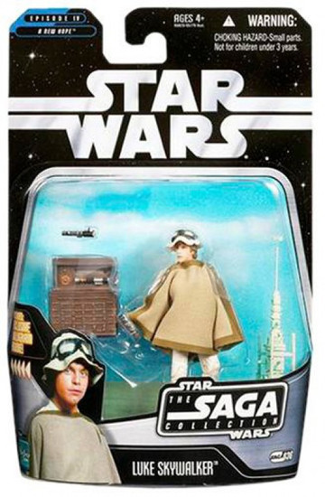 Star Wars A New Hope 2006 Saga Collection Luke Skywalker Action Figure #36 [Tatooine]