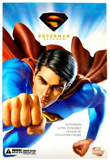 DC Superman Returns Superman Collectible Figure