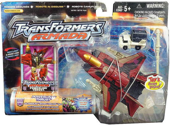 Transformers Armada Powerlinx Thrust Exclusive Action Figure [Exclusive]