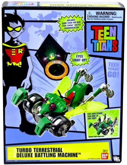 Teen Titans Go! Turbo Terrestrial Deluxe Battling Machine