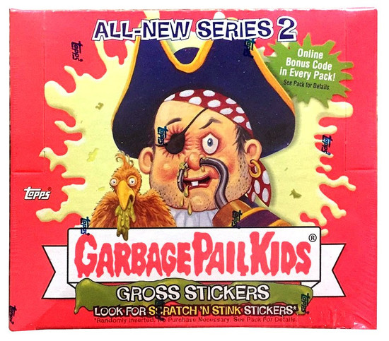 Garbage Pail Kids Topps All-New Series 2 Trading Card Sticker Box