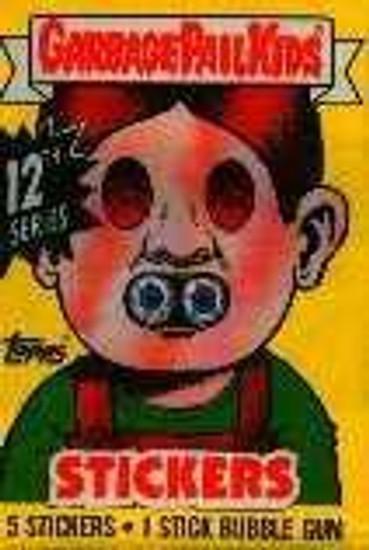 Garbage Pail Kids Topps Series 12 Trading Card Sticker Pack