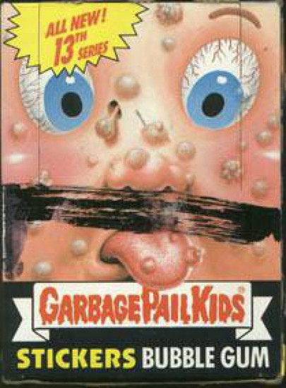 Garbage Pail Kids Topps Series 13 Trading Card Sticker Box