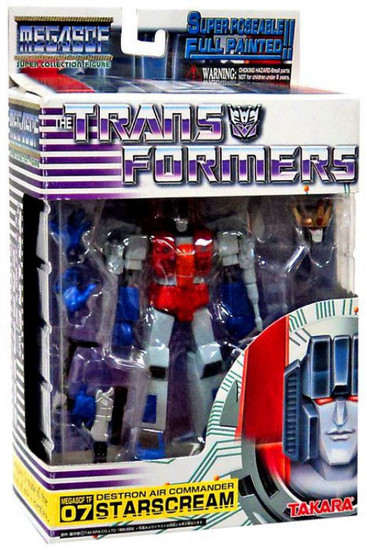 Transformers Animated Super-Poseable Collection Starscream Action Figure SCF 07