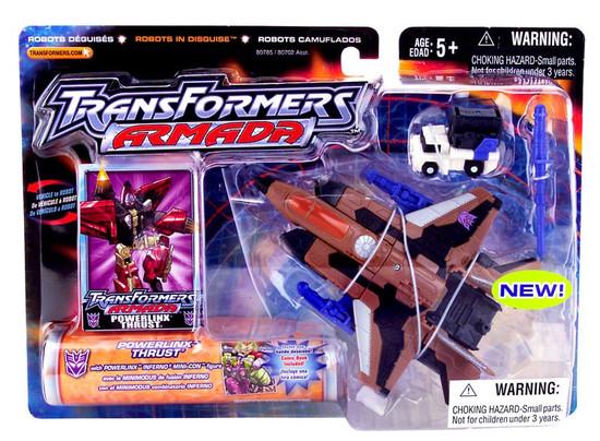 Transformers Armada Powerlinx Thrust Action Figure