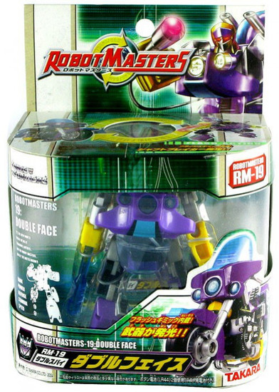 Transformers Japanese Robot Masters Double Face Action Figure RM-19