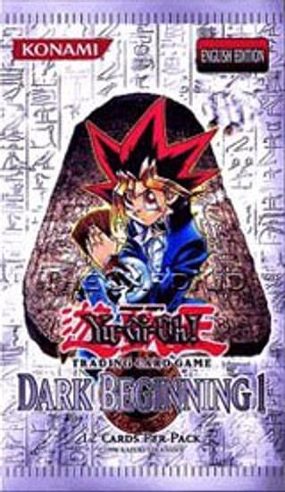 YuGiOh Trading Card Game Dark Beginning 1 Booster Pack [12 Cards]
