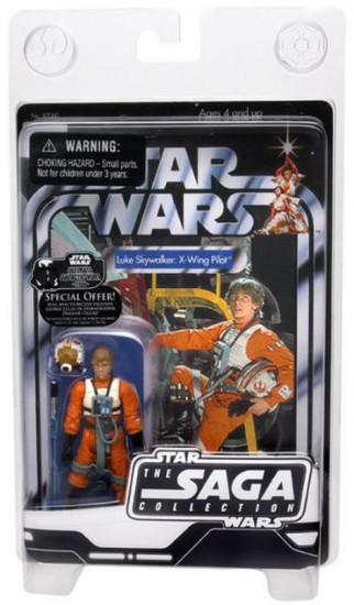 Star Wars A New Hope 2006 Vintage Saga Collection Luke Skywalker Action Figure [X-Wing Pilot]