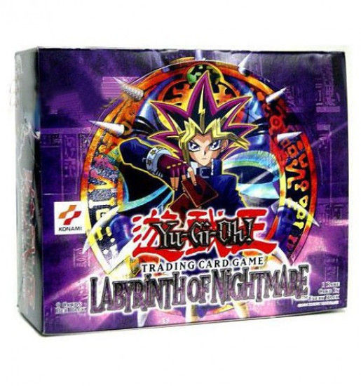 YuGiOh Trading Card Game Labyrinth of Nightmare Booster Box [36 Packs]