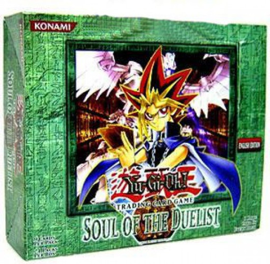 YuGiOh Trading Card Game Soul of the Duelist Booster Box [24 Packs]