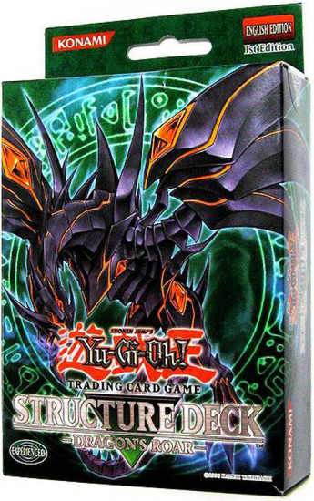 YuGiOh Trading Card Game Dragon's Roar (1st Edition) Structure Deck