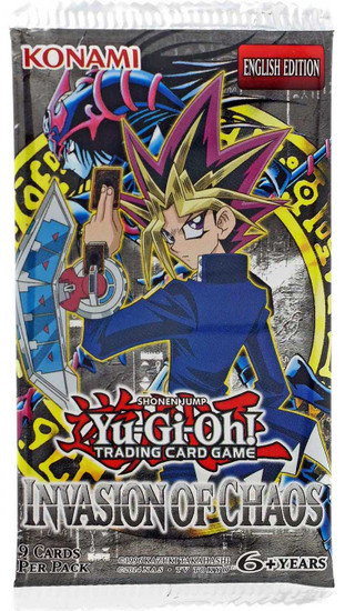 YuGiOh Trading Card Game Invasion of Chaos Booster Pack [9 Cards]