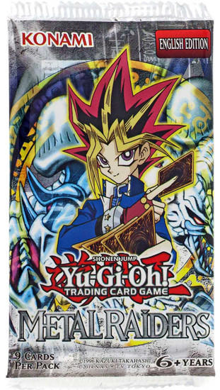 YuGiOh Trading Card Game Metal Raiders Booster Pack [9 Cards]
